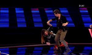 The Voice: Παπαρίζου και Ρουβάς χόρεψαν τσάμικο – Η «Ιτιά» που τους μεράκλωσε!