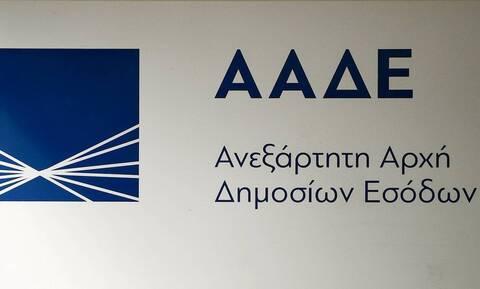 ΑΑΔΕ: Πάνω από 1,3 εκατ. αυτοματοποιημένοι συμψηφισμοί και καταβολές επιστροφών φόρου