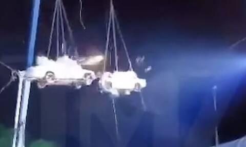 Τρομακτικό ατύχημα στο America's Got Talent: 41χρονος έγινε «σάντουιτς» ανάμεσα σε φλεγόμενα οχήματα