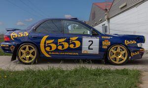 Αυτό το Subaru Impreza έχει πολύ μεγάλη αγωνιστική κληρονομιά