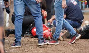 Βίντεο-ντοκουμέντο από το σοκαριστικό ατύχημα στα Γιαννιτσά - Το μοιραίο άλμα και η πρόσκρουση