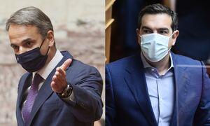 Η ώρα του πρωθυπουργού: Live η «σύγκρουση» Μητσοτάκη – Τσίπρα στη Βουλή για την πανδημία