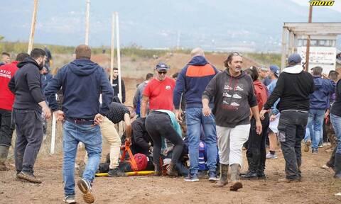 Ελεύθεροι οι δύο συλληφθέντες για το ατύχημα σε αγώνα Motocross - Σε κρίσιμη κατάσταση οι τραυματίες