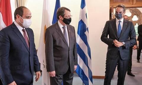 Στην Αθήνα ο  Αναστασιάδης για την τριμερή Κύπρου - Ελλάδας - Αιγύπτου