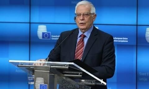 Μπορέλ: «Θα έχουμε περίπλοκη και μακρά συνάντηση με τους Υπουργούς Εξωτερικών»