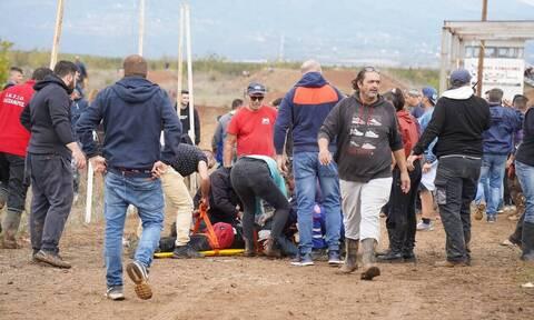 Γιαννιτσά: Κρίσιμες ώρες για τους δύο τραυματίες σε πίστα motocross - Ο 27χρονος χτύπησε από κράνος!