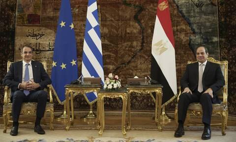 Συνάντηση Μητσοτάκη - αλ Σίσι: Οι εξελίξεις στην Ανατολική Μεσόγειο στο τραπέζι της συζήτησης
