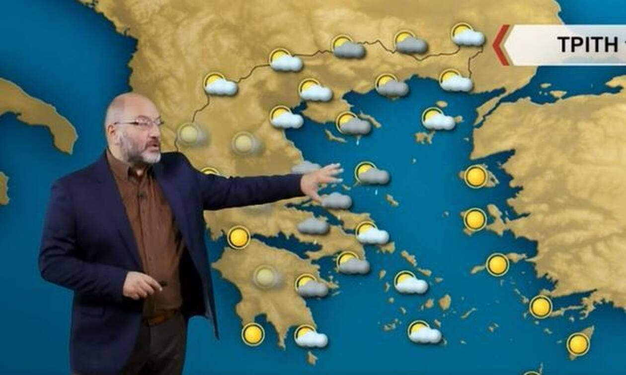 Καιρός - Αρναούτογλου: Έρχονται καταιγίδες - Προσοχή στις περιοχές που πλημμύρισε ο «Μπάλλος» (vid)