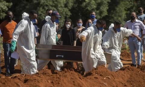 Κορονοϊός στη Βραζιλία: 183 θάνατοι και 7.446 κρούσματα σε 24 ώρες