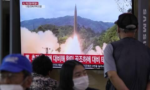 Νέος συναγερμός - Η Βόρεια Κορέα εκτόξευσε άλλους δύο βαλλιστικούς πυραύλους
