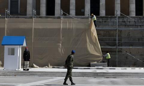 Συναγερμός για το κτήριο της Βουλής: Εντοπίστηκαν ρηγματώσεις – Κίνδυνος από επόμενη κακοκαιρία
