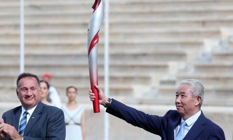 «Πεκίνο 2022»: Παραδόθηκε η Ολυμπιακή Φλόγα στους Κινέζους διοργανωτές