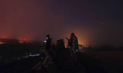 Ηφαίστειο Λα Πάλμα: Με drone προσπαθούν να σώσουν τρεις εγκλωβισμένους σκύλους (vid)