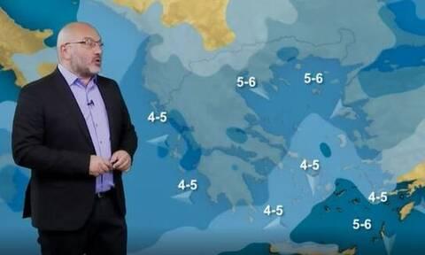 Καιρός - Αρναούτογλου: Πώς θα κινηθεί η νέα κακοκαιρία - Πού θα είναι έντονα τα φαινόμενα (vid)