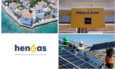 «Σπάνε» συμφωνίες στα φωτοβολταϊκά, τα δίκτυα της HENGAS και στο «σφυρί» ακίνητο στις Σπέτσες