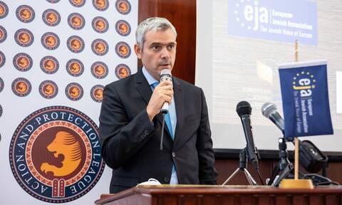 Ομιλητής στο συνέδριο της Ευρωπαϊκής Εβραϊκής Ένωσης για τον αντισημιτισμό ο Κώστας Καραγκούνης