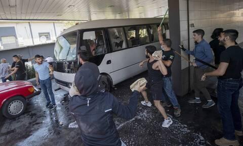 Έκρηξη σε λεωφορείο στη Συρία