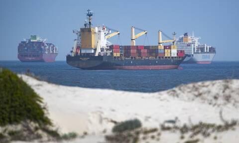 Μείωση 1% της δύναμης του ελληνικού εμπορικού στόλου τον Αύγουστο