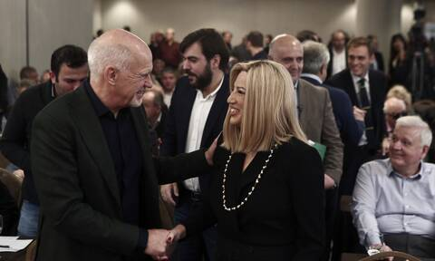 ΚΙΝΑΛ: Ο Γιώργος Παπανδρέου ενημέρωσε τη Φώφη Γεννηματά ότι θα είναι υποψήφιος - Η αντίδρασή της