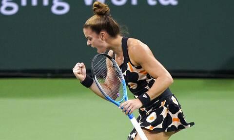 Μαρία Σάκκαρη: Ραντεβού με την ιστορία στη Μόσχα! – Μια νίκη μακριά από τα WTA Finals