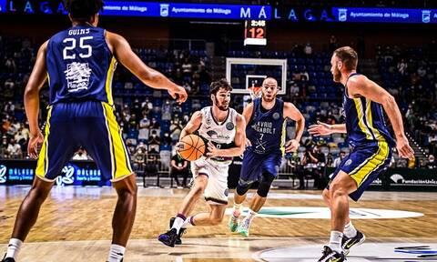 Basketball Champions League: Το Λαύριο πάλεψε, αλλά υποκλίθηκε στη Μάλαγα του Κατσικάρη