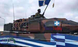 Παρέλαση 28η Οκτωβρίου: Εντυπωσιακή η πρόβα με άρματα, πυραύλους και μηχανοκίνητα τμήματα
