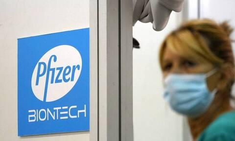 Κορονοϊός - Pfizer: Αποτελεσματική στο 95,6% μια αναμνηστική δόση του εμβολίου