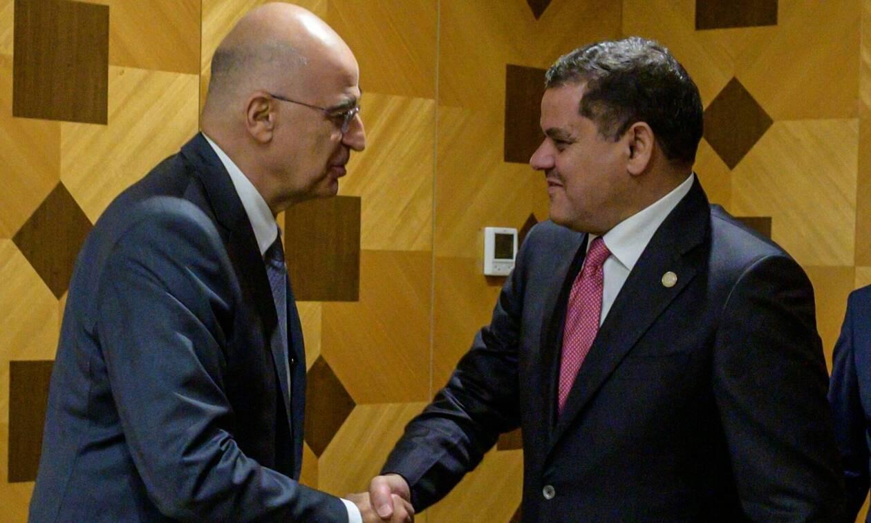 Νίκος Δένδιας: Μπαράζ επαφών στη Λιβύη και μηνύματα στην Τουρκία - Συνεχείς συναντήσεις στην Τρίπολη
