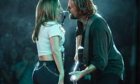 A Star Is Born: Η ταινία έπαιξε στην τιβί και το Twitter αποθέωσε Cooper- Lady Gaga (photos)