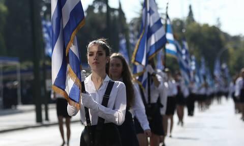 Χαλάνδρι: Μόνο με σημαιοφόρους και παραστάτες η παρέλαση της 28ης Οκτωβρίου