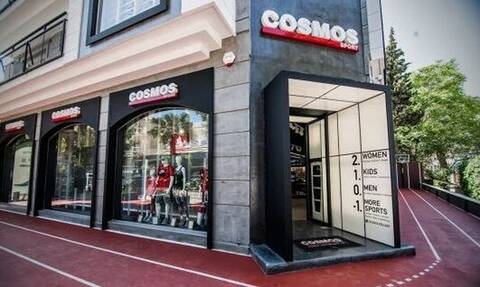 Cosmos Sport: Περνά στη διεθνή αλυσίδα JD Sports Fashion Plc