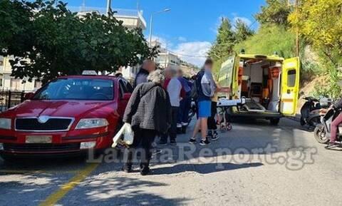 Τροχαίο ατύχημα στη Λαμία: Αυτοκίνητο παρέσυρε και τραυμάτισε φοιτήτρια (vid)