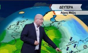 Καιρός - Αρναούτογλου: Τσουχτερό κρύο και βροχές - Η τάση έως την 28η Οκτωβρίου (vid)