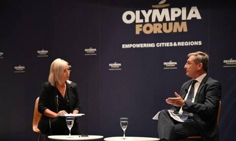 Olympia Forum - Πανανικόλας: «Προσωπικός μου στόχος η μείωση των ατυχημάτων στο Πάτρα-Πύργος»