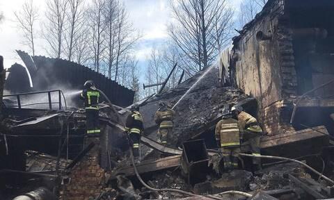 Ρωσία: 17 νεκροί από έκρηξη σε εργοστάσιο χημικών (pics+vid)