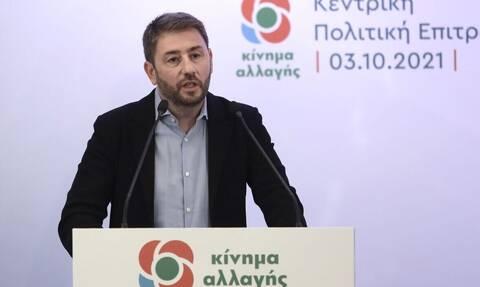 Ανδρουλάκης: Όποιος συζητάει σενάρια συνεργασιών περιφρονεί τη λαϊκή ετυμηγορία