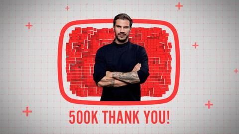 Άκης Πετρετζίκης: Το αγγλικό κανάλι του στο YouTube  έφτασε τους 500.000 εγγεγραμμένους χρήστες!