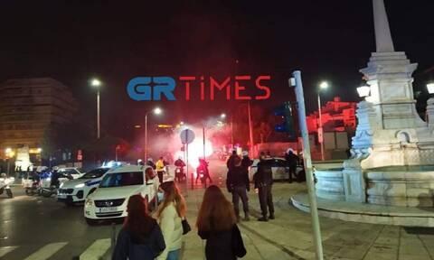 Πεδίο μάχης η Θεσσαλονίκη: Σοβαρά επεισόδια με μολότοφ και χημικά