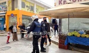 Λαμία: Χαμός σε λαϊκή αγορά  -  Άγρια συμπλοκή ανάμεσα σε πωλητή και ιδιοκτήτη καταστήματος