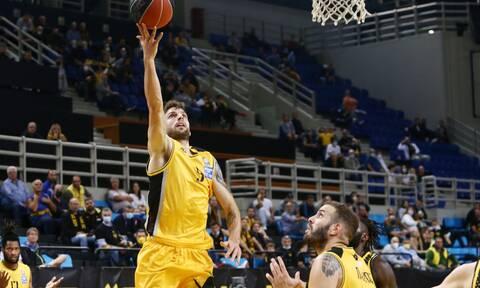 Basket League: Πολύ σκληρή η ΑΕΚ, νίκη με καλάθι 4'' πριν το τέλος! – Highlights και βαθμολογία