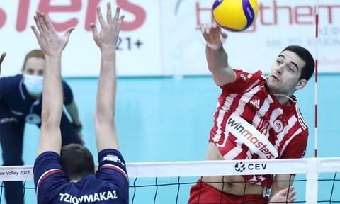 Volley League: Το «2 στα 2» έκαναν Ολυμπιακός και Παναθηναϊκός - Αποτελέσματα και βαθμολογία