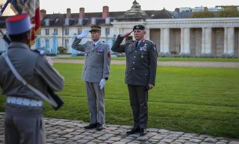ΓΕΕΘΑ: Επίσημη επίσκεψη του Αρχηγού, Στρατηγού Φλώρου στη Γαλλία – Πτήση με RAFALE