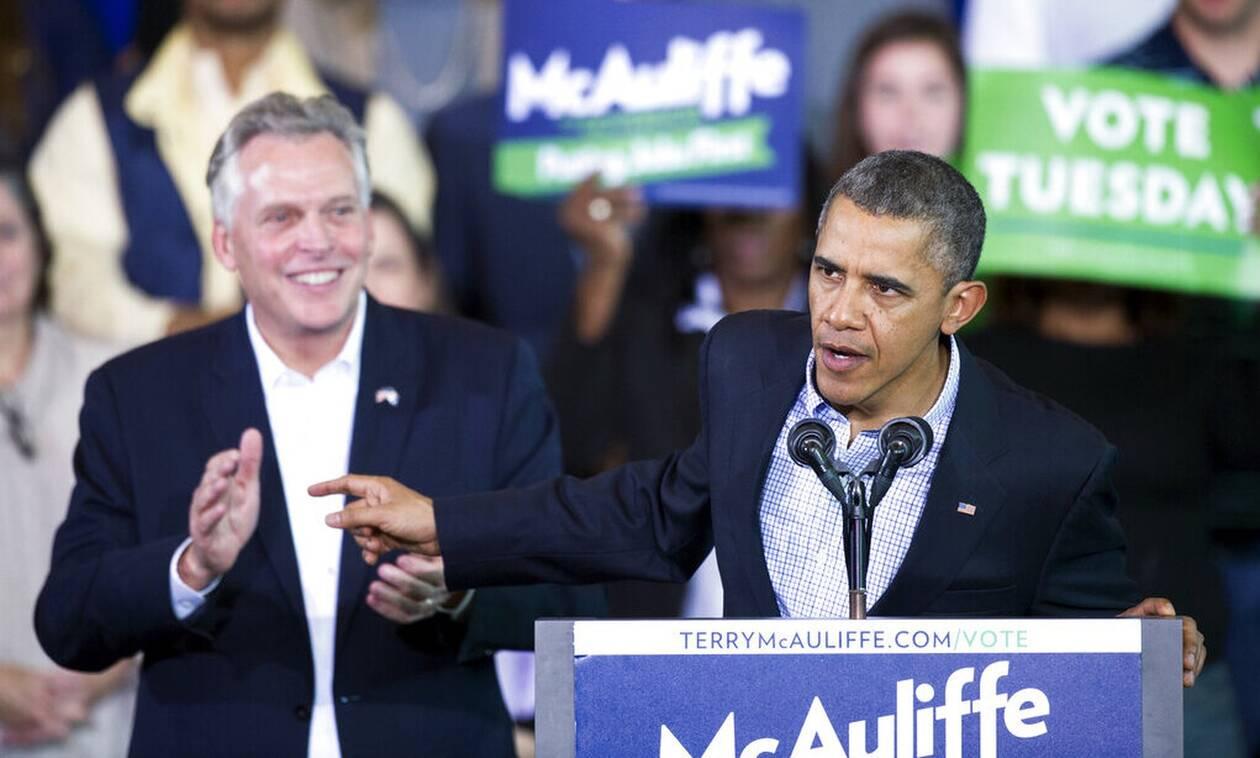 ΗΠΑ: Εκστρατεία του Μπαράκ Ομπάμα στην Βιρτζίνια για μια κρίσιμη τοπική εκλογή