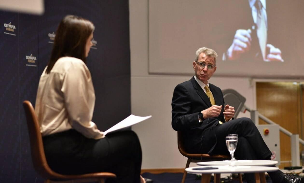 Τζέφρι Πάιατ από το Olympia Forum II: «Η Ελλάδα είναι πηγή λύσεων και ελπίδας»