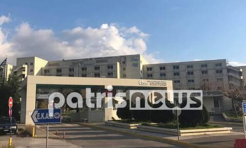 Αγωνία στην Πάτρα: Νεογνό 20 ημερών με κορονοϊό στο Πανεπιστημιακό Νοσοκομείο