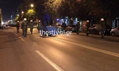 Πετροπόλεμος και χημικά στη Θεσσαλονίκη: Επεισόδια μεταξύ αντιεξουσιαστών και ΜΑΤ