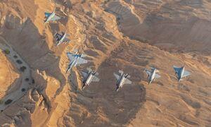 Πολεμική Αεροπορία: Ελληνικά μαχητικά από την… έρημο μέχρι τον Ατλαντικό - Επίδειξη ισχύος!
