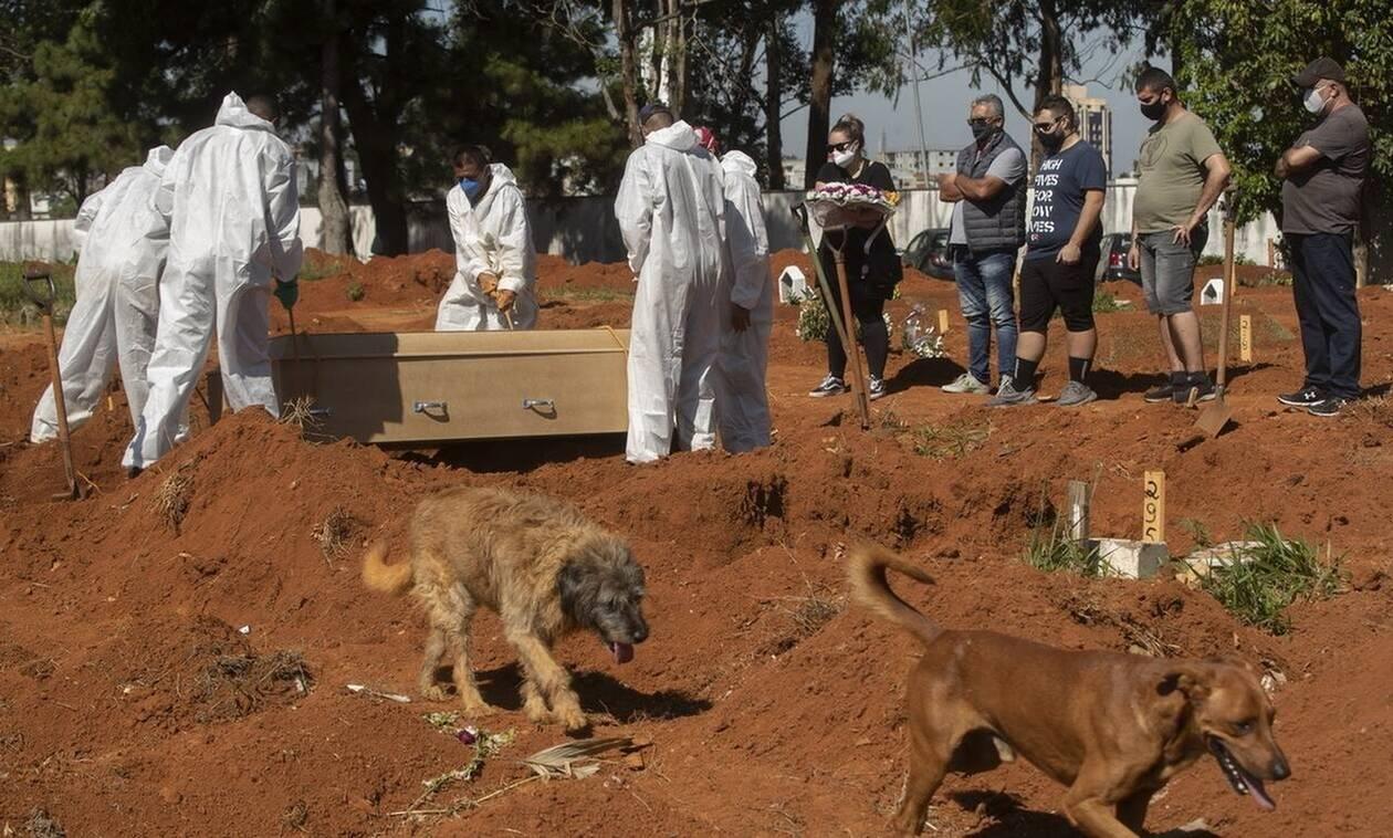 Κορονοϊός- Βραζιλία: 318 νέοι θάνατοι και σχεδόν 12.000 κρούσματα σε 24 ώρες
