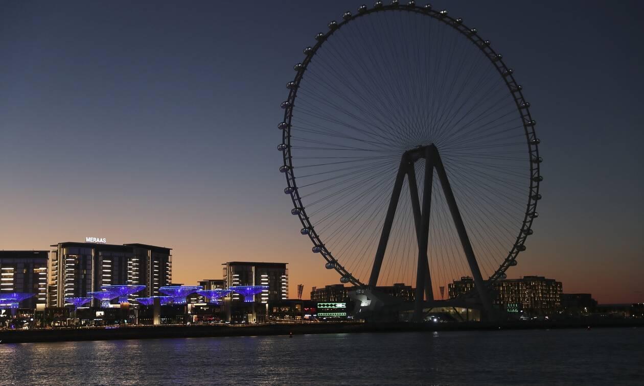 «Το μάτι του Ντουμπάι»: Εγκαίνια για τη μεγαλύτερη ρόδα λούνα παρκ στον κόσμο