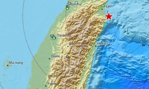 Σεισμός 6,2 ρίχτερ στην Ταϊβάν